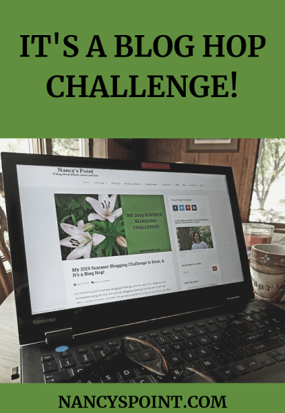 It's a #BlogHop Challenge! #cancer #blogging #bloggingchallenge #womenshealth