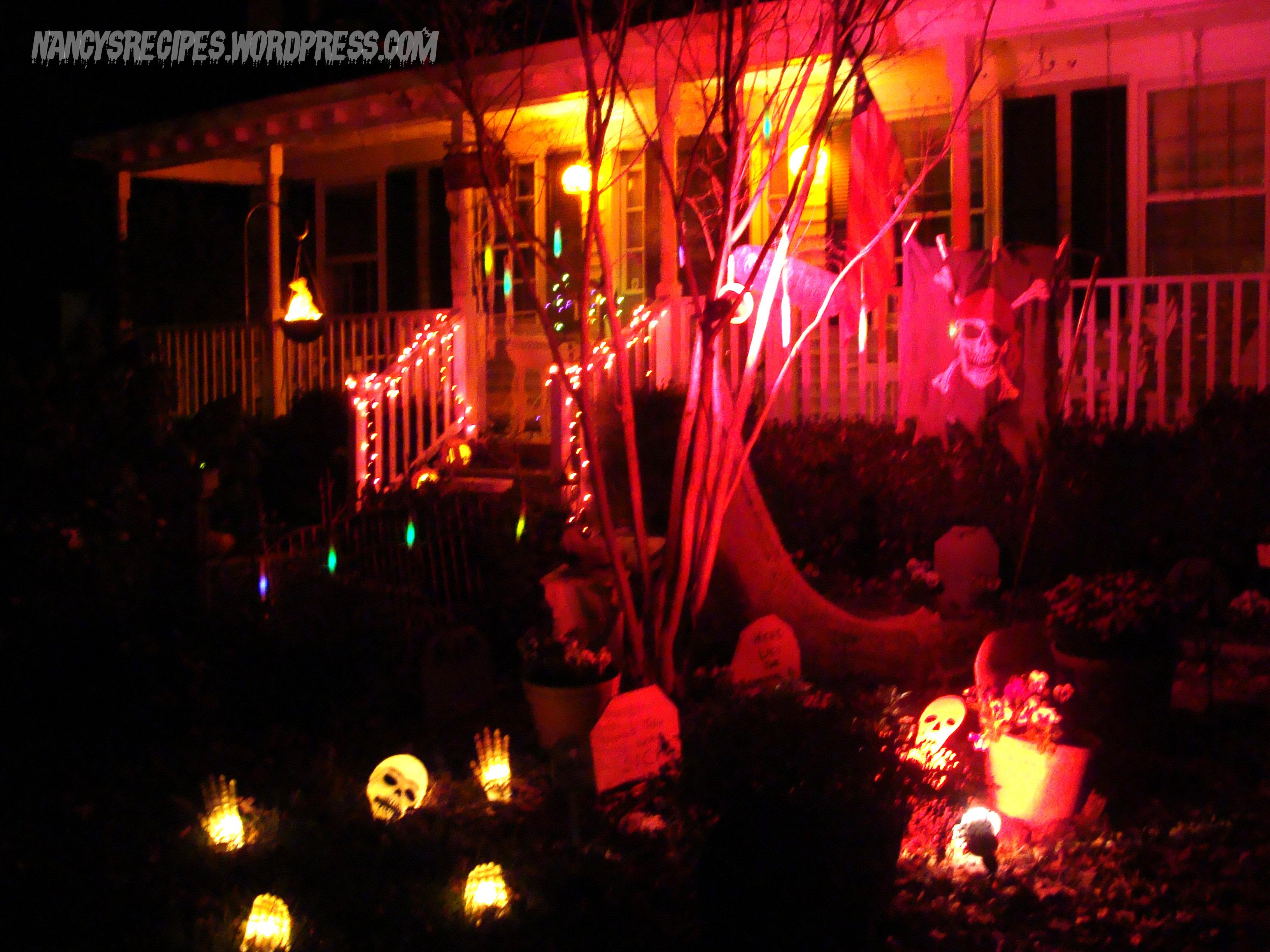 Halloween 2009 Yard 4