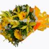 Ramo de flores amarillo
