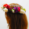 Diadema de flores