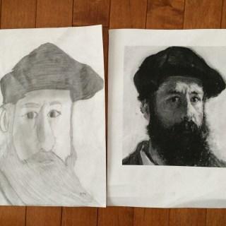 Claude Monet: Sketch Vs Picture