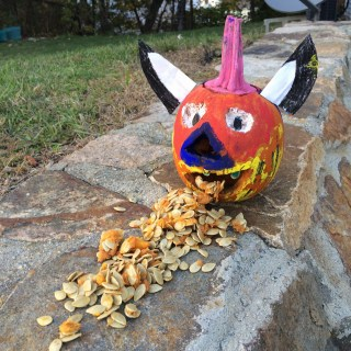 O'Pumpkin, You ate too much candy....!!!!!