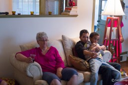 Mom and grandsons.