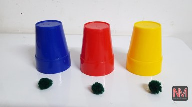 CUPS & BALL (Plastic),,