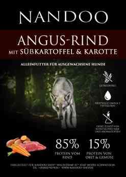 UGF Angus Rind mit Süßkartoffel und Karotte