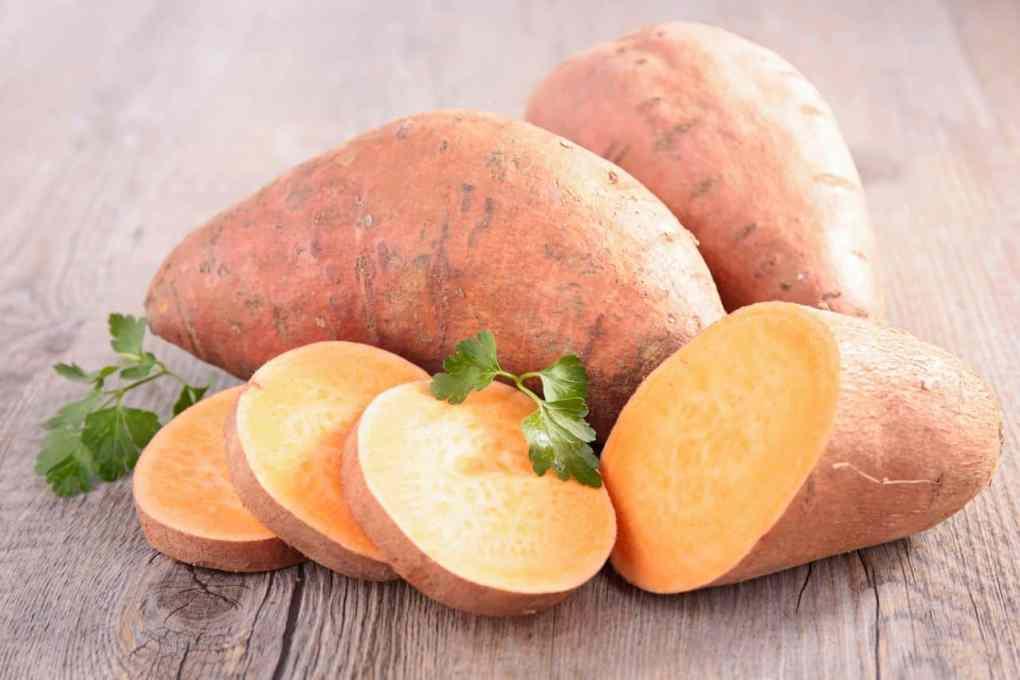 suesskartoffeln Erlesene Zutaten