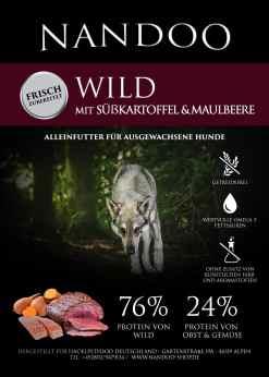 VGF-e1598427936738 Wild (Hirsch) mit Süßkartoffel, Lachs & Maulbeere