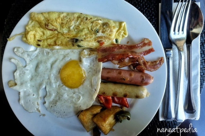 Breakfast at Tanjung Terrace Restaurant