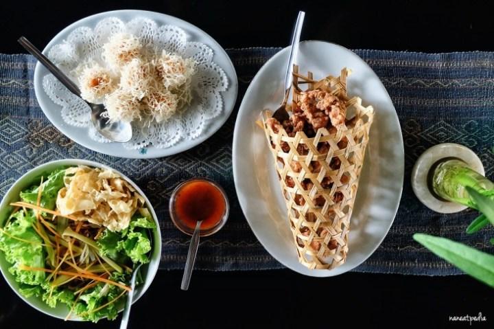 Udang Rambutan, Ayam Goreng Belachan, Selada Nostalgia