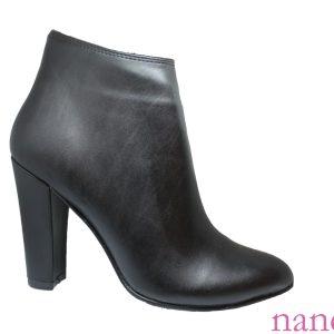 naneciler siyah suni deri yüksek topuk toptan bot - high heel wholesale boot الجملة الكعب العالي التمهيد - bottes à talons hauts - сапоги на высоком каблуке оптом