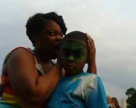 mom and jamiel