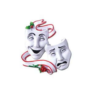 theater holiday masks