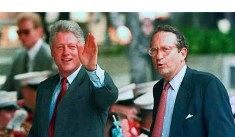John Deutch, then Director of the Central Intelligence Agency, is shown with President Bill Clinton. This photo was before the Clintons threw Deutch under the bus for security lapses considerably less egregious than those Hillary Clinton committed while she was Secretary of State.