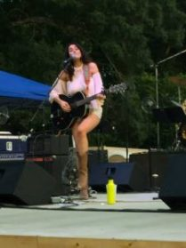 Grace Askew opened the fourth Levitt AMP concert