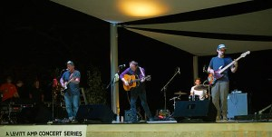 Young Valley, an up-and-coming alternative country band from Jackson was the featured act Saturday night.