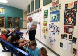 With the upcoming Presidential Election, Mr. Glen Reeder and his EXCEL students at New Albany Elementary School are researching and learning interesting facts about past U.S. Presidents. EXCEL students have also completed research projects on each President and created a wall display for all students in the school to enjoy.