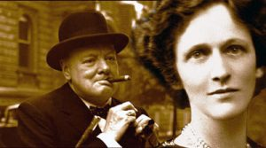Winston Churchill and Lady Astor