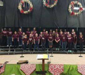 The New Albany Elementary School Chorus performed at Celebration Village on Thursday, October 20