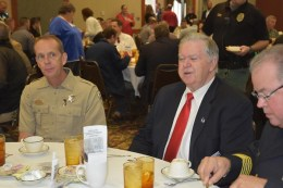 Officials at Crime Stoppers banquet