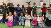 New Albany first graders participate in Blog Hop