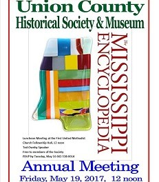 Union County Historical Society meeting