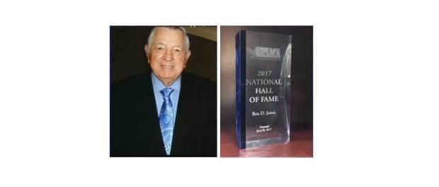 Ben Jones, Hall of Fame