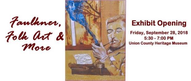Faulkner art exhibit