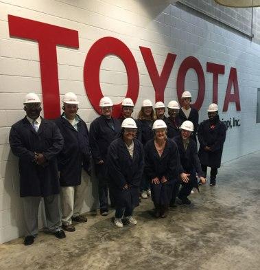 IMPACTO Toyota tour
