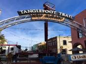 New Tanglefoot Trail signs