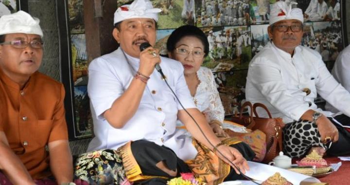 Wagub Cok Ace Pimpin Rapat Persiapan Rangkaian Upacara di Pura Agung Besakih