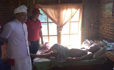 Alami Kelumpuhan, Dinsos Bali Bantu I Gusti Ketut Merta