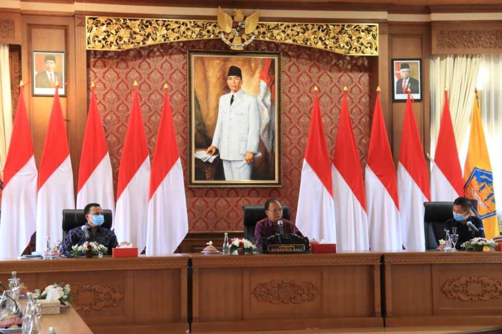 Pemprov Bali dan Kemenkes RI Kolaborasi Percepatan Penanganan Covid-19 di Bali