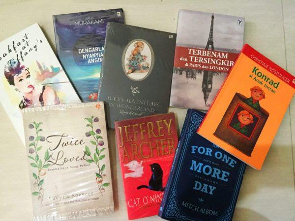 Book swap Ammacaki 2016