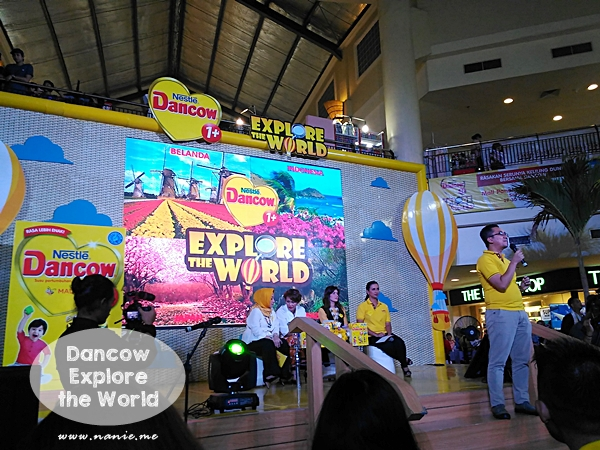 Dancow Explore the World
