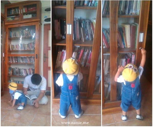 buku di kampung buku - Dear Makassar