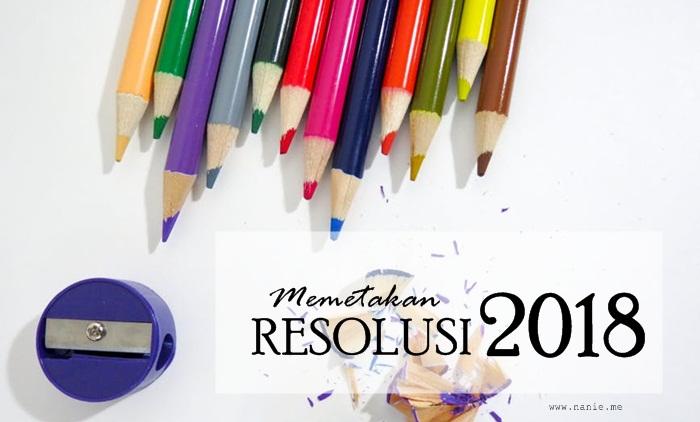 Memetakan Resolusi 2018