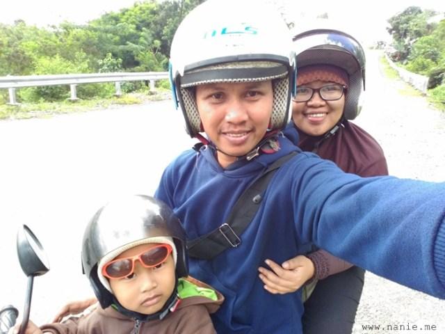 Naik motor Bone - Makassar