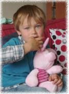 Allan, 3 ans et demi à passé quelques mois avec nous, été 2010.
