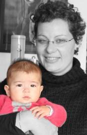 Maëlle, 4 mois, arrivée en octobre 2010. Elle rentre à l'école en septembre 2013.