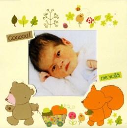 Mathéo, avait 2 mois et demi à son arrivée, décembre 2011 jusque décembre 2012.