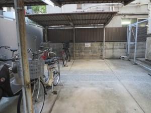 NAMBAウエストⅡ:駐輪場