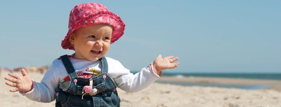 La ropa de tu bebé en verano