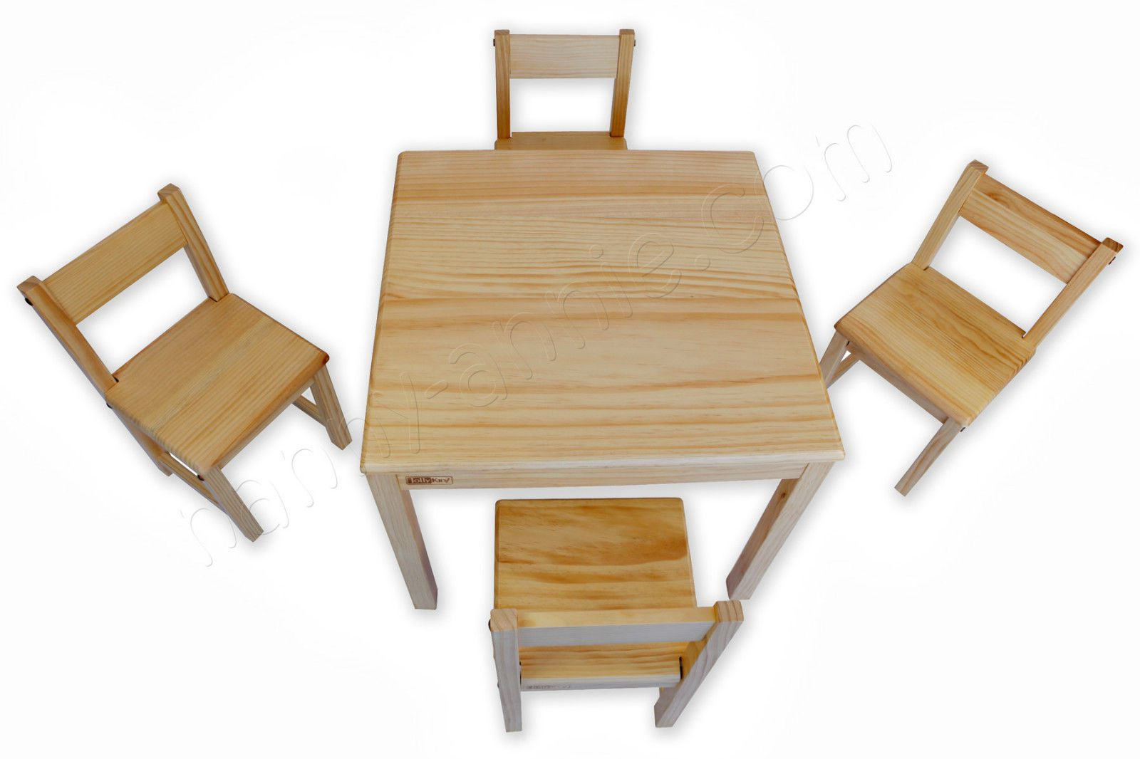 Wooden Kids Table And Chairs Jolly Kidz Children 39s Wooden Table And Four Chairs Kids