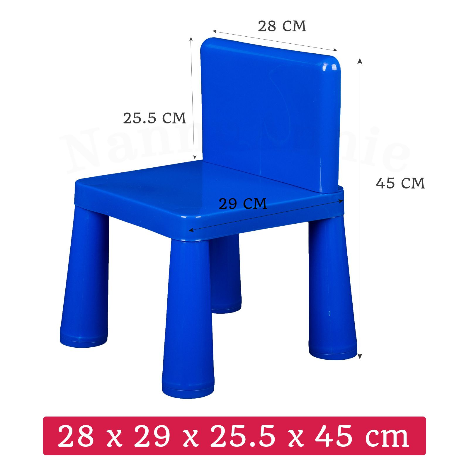 Activity Chair Kids Table Chair Play Furniture Set Plastic