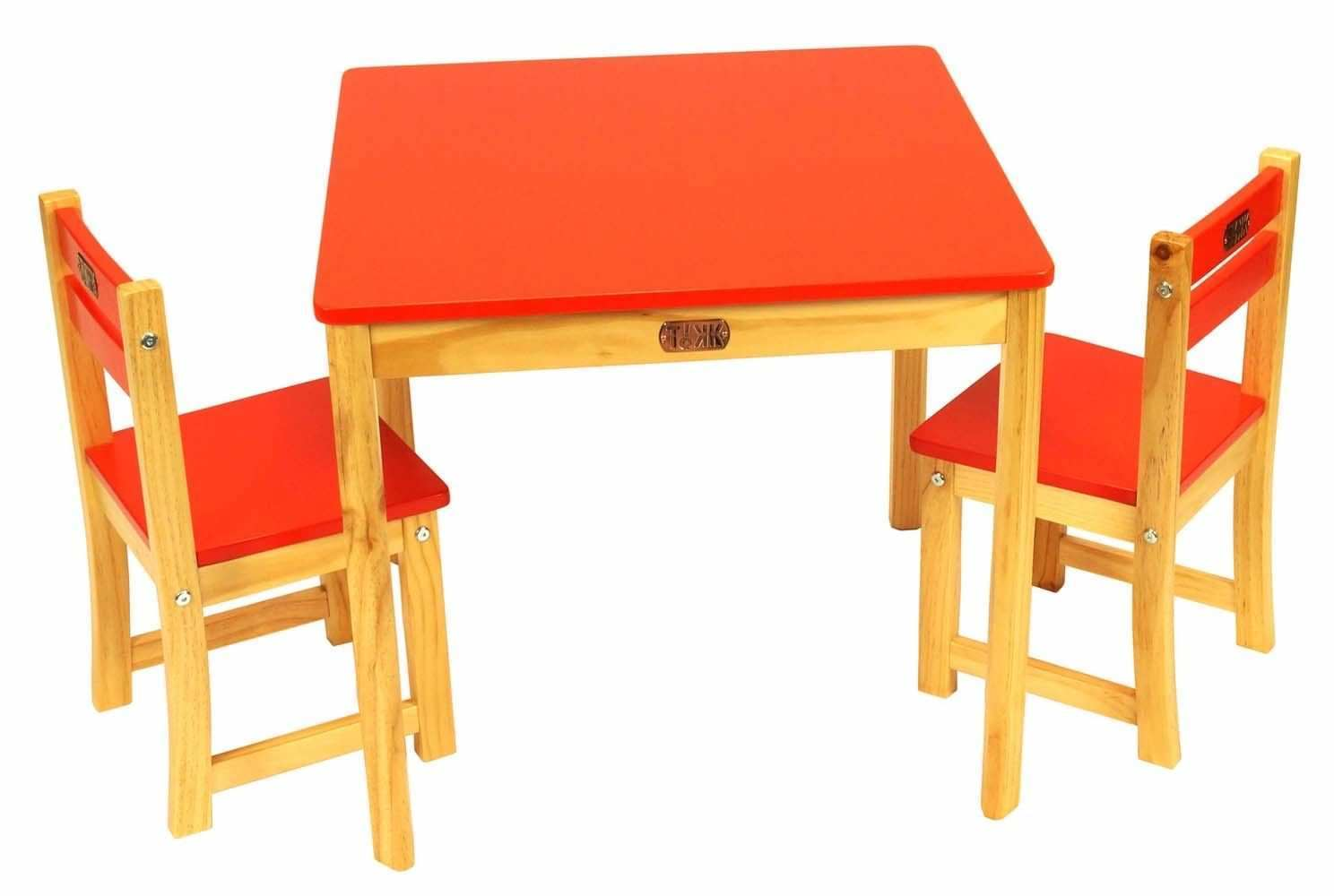 Toddler Table And Chair Kids Table And Chair Set Red Square Table Set Clearance