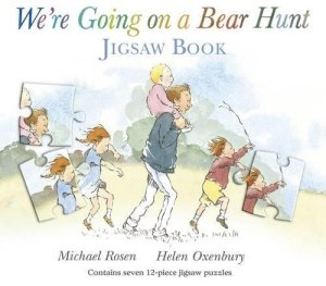 We're Going on a Bear Hunt children's book cover image