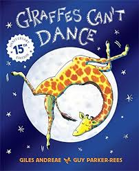 Cover of Giraffes can't dance book