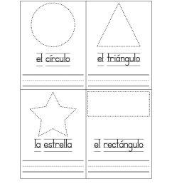 Spanish Worksheets For Kindergarten   Basic Shapes In Spanish on Best  Worksheets Collection 4185 [ 1584 x 1224 Pixel ]
