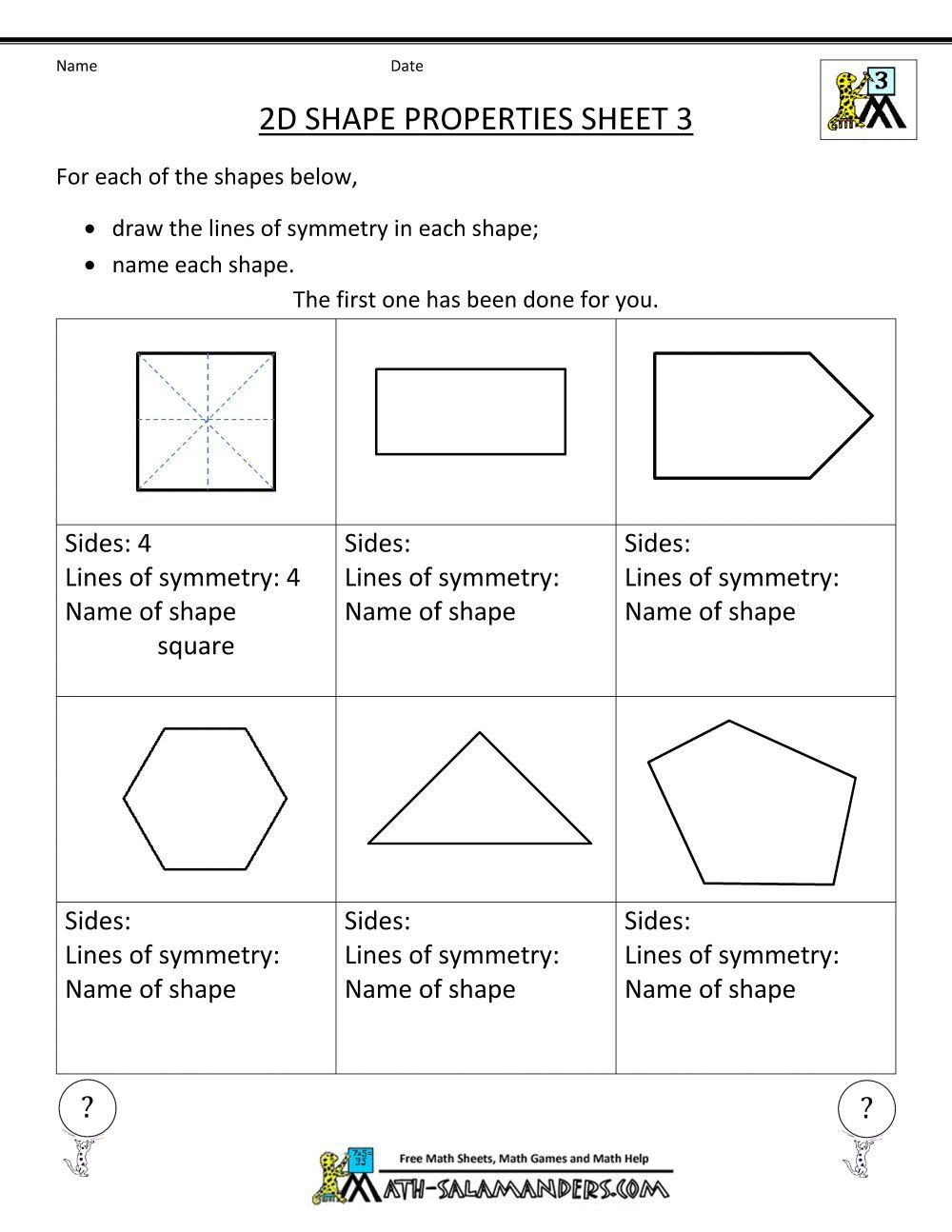 hight resolution of 14 Best 4th Grade Geometry Worksheets images on Best Worksheets Collection