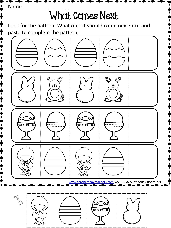 15 Best Preschool Pattern Worksheets Images On Best